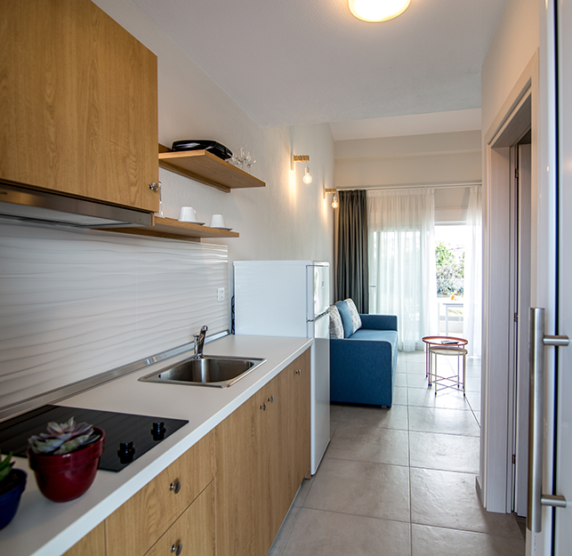 Holiday apartments Nikiti | The Papoutsakis Apartments
